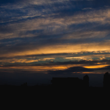 Sunset in Braila, Canon EOS 700D, Canon EF-S 18-55mm f/3.5-5.6 IS STM