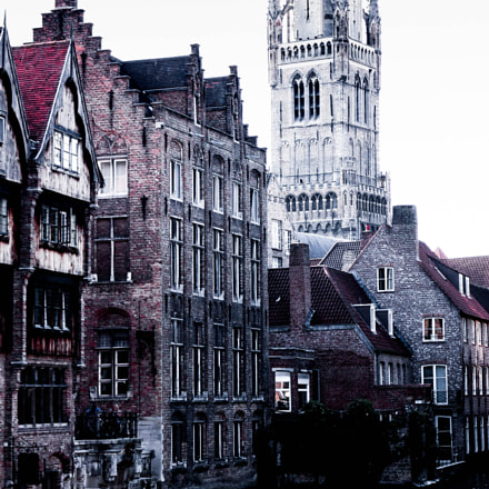 Bruges, Canon EOS 750D, Canon EF-S 18-55mm f/3.5-5.6 IS STM