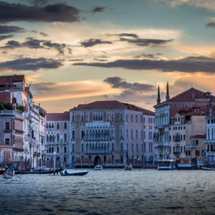 Venice Sunset, Canon EOS 700D, Canon EF-S 18-55mm f/3.5-5.6 IS STM