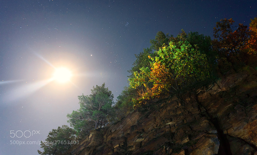 Photograph Full moon by Nikolay Stoilov on 500px
