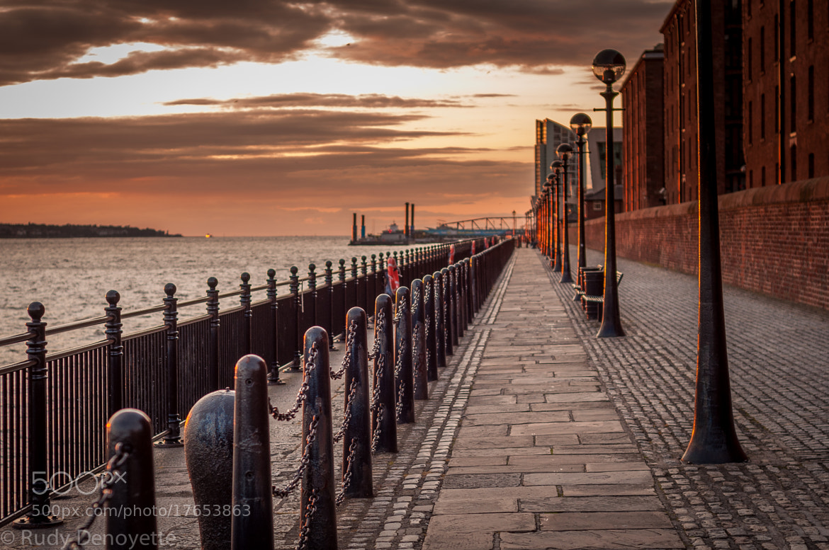 Photograph Albert docks and River Mersey by Rudy Denoyette on 500px