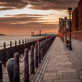 Albert docks and River Mersey by Rudy Denoyette (rudyd)) on 500px.com