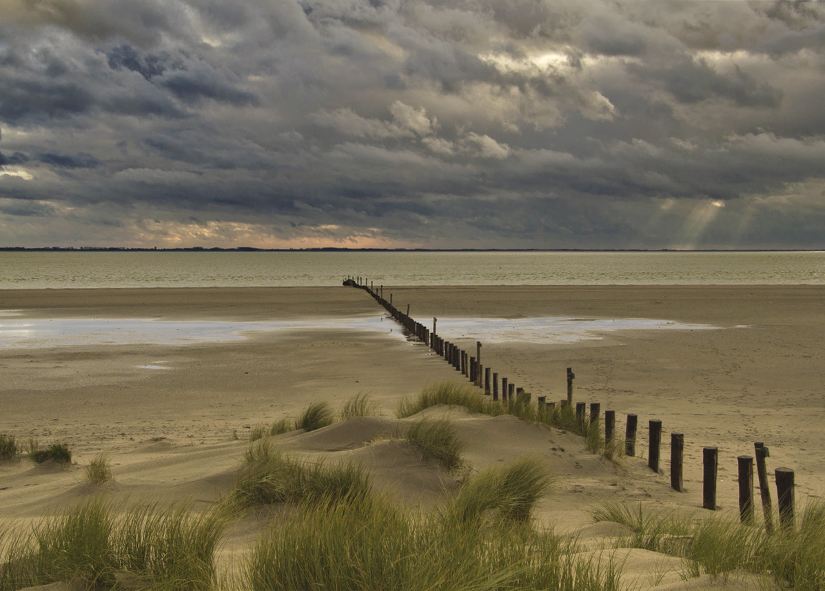 Photograph Cloudy beach by Joost Lagerweij on 500px