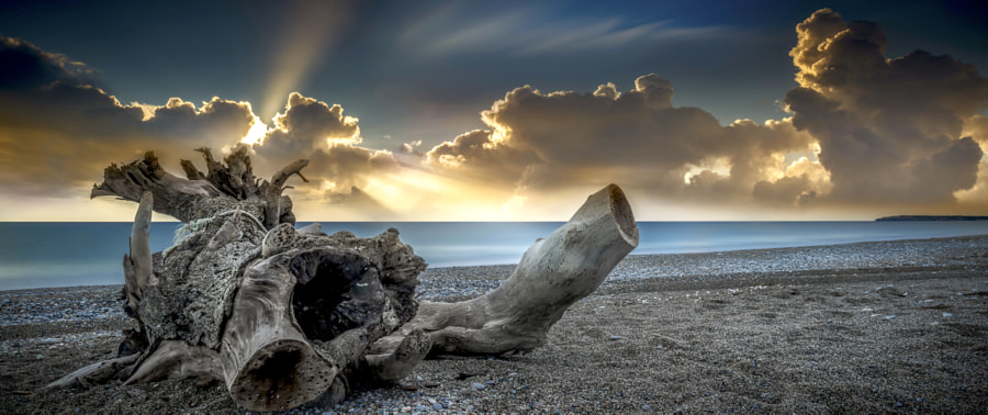 Sunrise  in Rhodes Island by panagiotis laoudikos on 500px.com