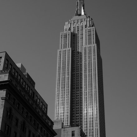 Empire State Building, Sony NEX-3N, Sony E PZ 16-50mm F3.5-5.6 OSS