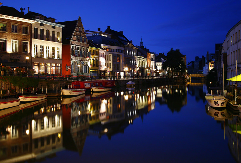Photograph Evening In Ghent by Kamran Efendioglu on 500px