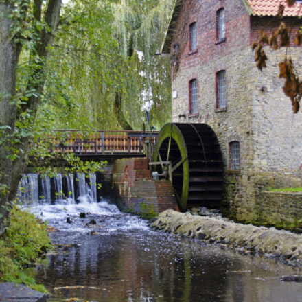 The watermill, Sony SLT-A55V, Sigma DC 18-125mm F4-5,6 D