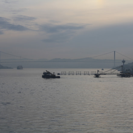 Istanbul view, Canon EOS 1000D, Canon EF-S 18-55mm f/3.5-5.6 IS
