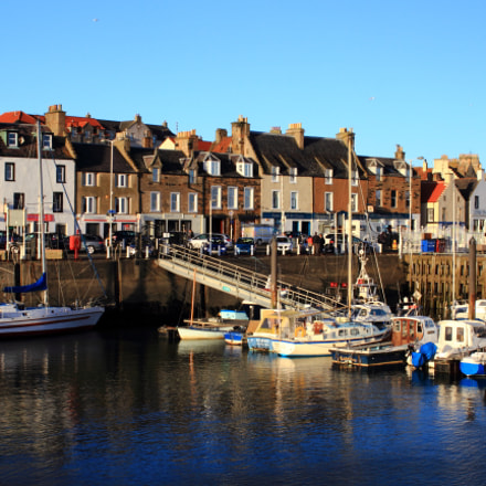 Anstruther harbour, Canon EOS 7D, Canon EF 35-80mm f/4-5.6 USM