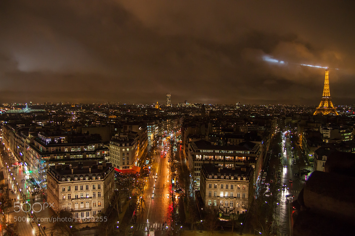 Photograph Paris at night by Julia Caban on 500px