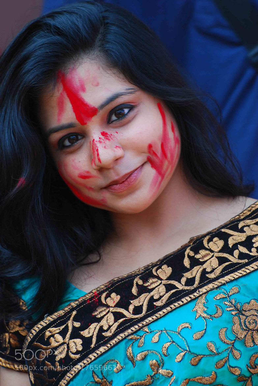 Photograph Game of vermillion(Bengali- sindur khela) by tushar das on 500px