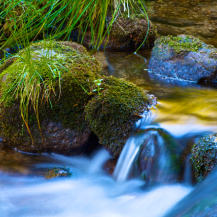 Water Flow, Canon EOS 1000D, Tamron AF 70-300mm f/4-5.6 Di LD 1:2 Macro