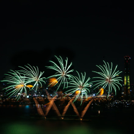 Seoul fireworks festival, Canon EOS 5D, Tamron SP AF 28-75mm f/2.8 XR Di LD Aspherical [IF] Macro