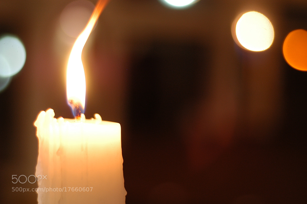 Photograph wedding candle by Miguel Angel Algarañaz on 500px