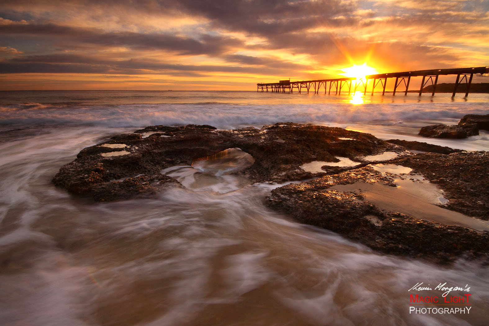 Photograph Catherine Hill Bay sunrise by Kevin Morgan on 500px