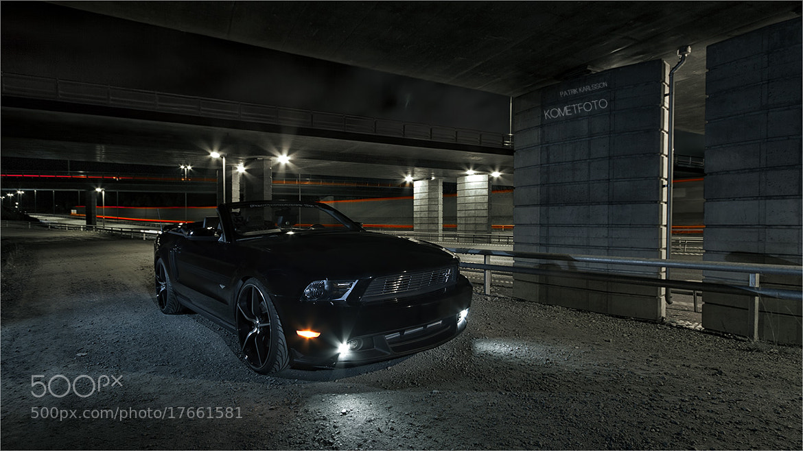 Photograph Mustang in the night by Patrik  Karlsson on 500px
