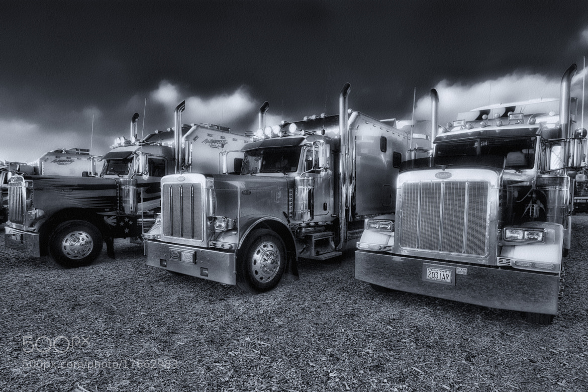 Photograph PETERBILT TRUCKS by Duschan Tomic on 500px