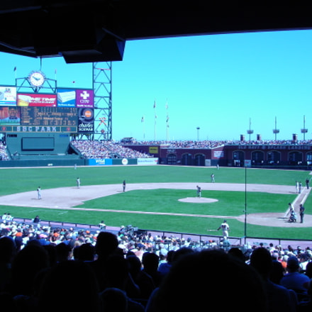 Behind home plate, Sony DSC-W1