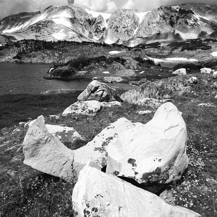 Boulders and Mountains, Sony DSC-W830