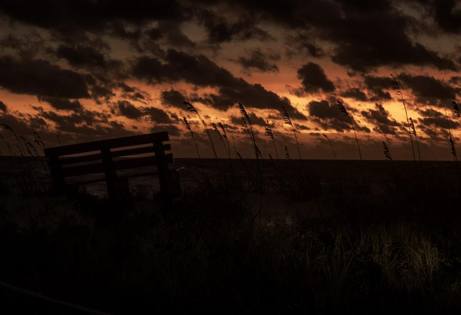 last evening light