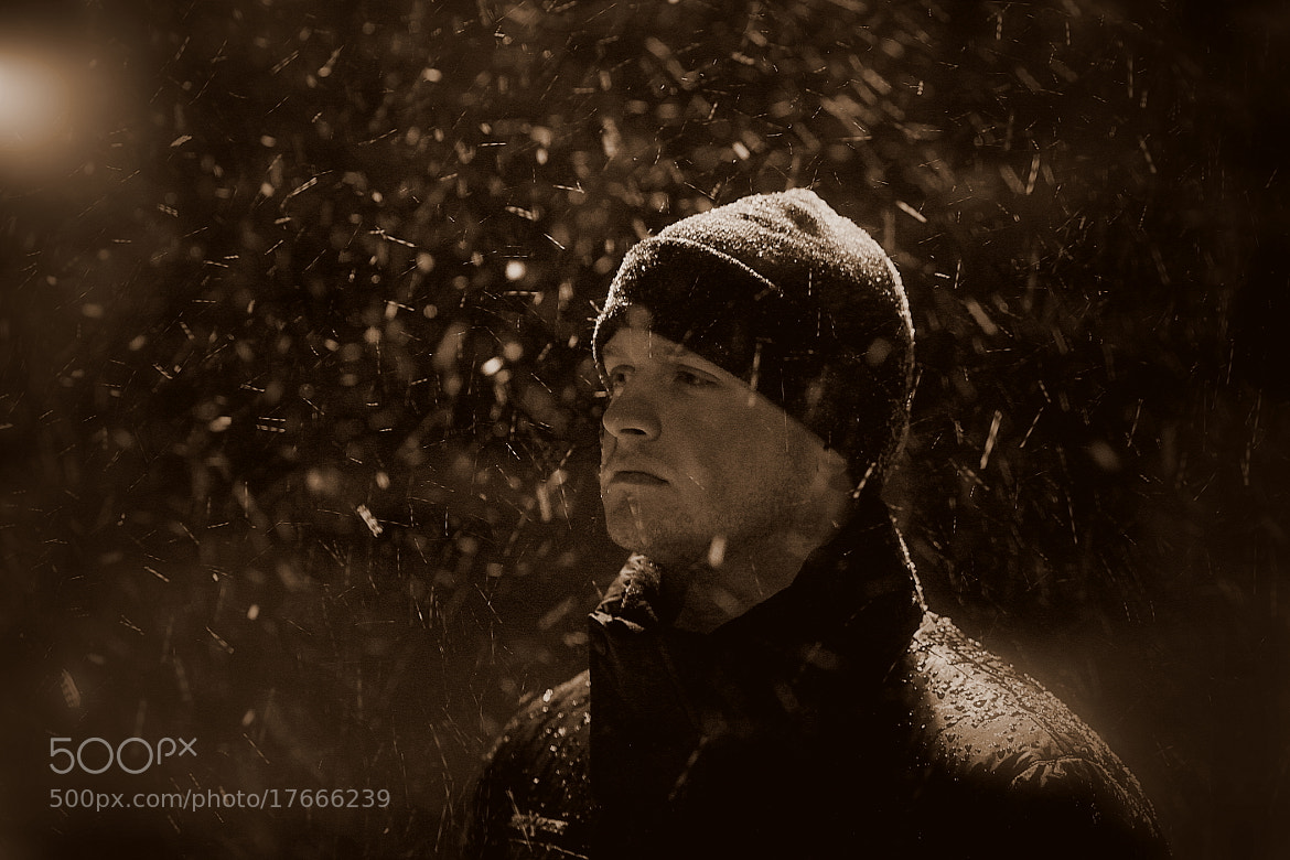 Photograph [ November Snow III | Portrait ]  by Anh Gerrard  on 500px