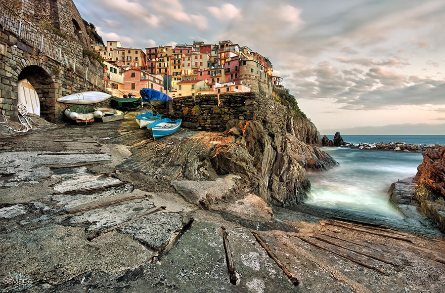 Photograph Manarola by Mirko Saviane on 500px