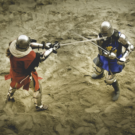 Medieval fight, Canon EOS 1000D, Canon EF-S 18-55mm f/3.5-5.6 [II]