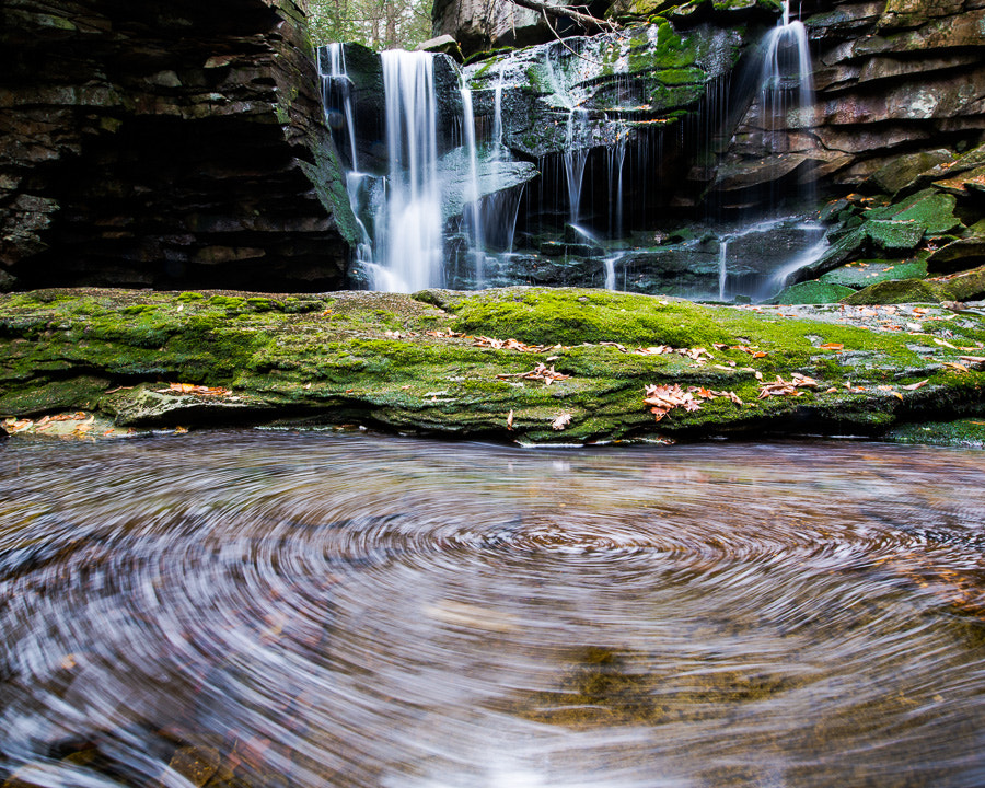 Photograph Swirling Falls by Kelly & Robert Walters on 500px