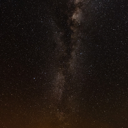 Milky way over Broome., Nikon D750, Sigma 14mm F2.8 EX Aspherical HSM