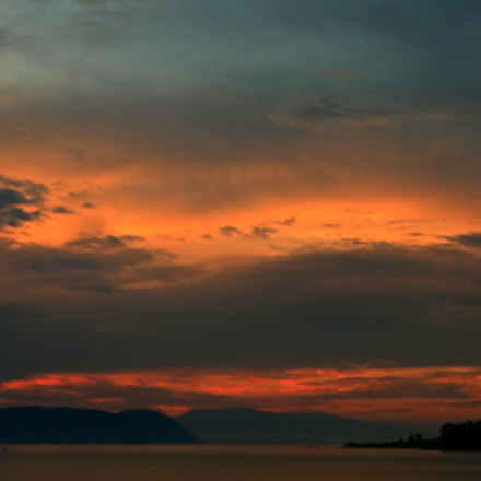 Sunset of Skopelos, Canon EOS 450D, Canon EF-S 18-135mm f/3.5-5.6 IS