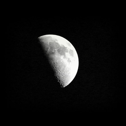 Moon, Canon EOS 7D MARK II, Canon EF-S 55-250mm f/4-5.6 IS STM