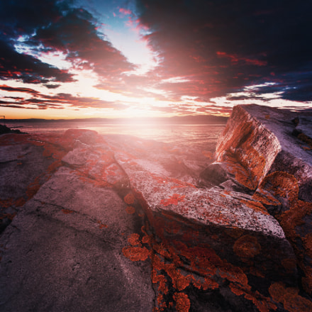 Sunset in Norway, Canon EOS 5D, Canon EF 17-40mm f/4L