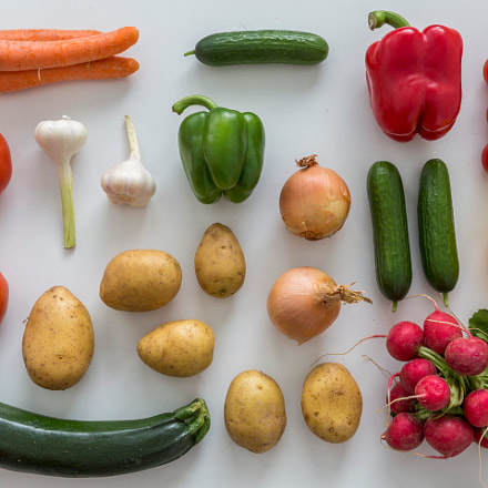 Bunch of vegetables, Canon EOS 5D MARK III, Canon EF 24-70mm f/2.8L II USM