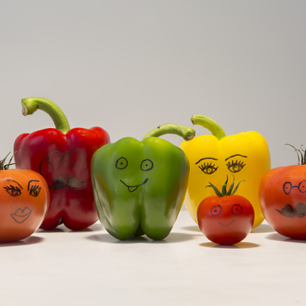 Smiling vegetables, Canon EOS 5D MARK III, Canon EF 24-70mm f/2.8L II USM