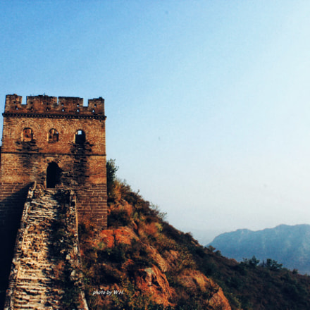 The Jinshanling Great Wall, Canon EOS 500D, Canon EF 50mm f/1.8