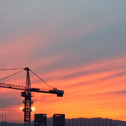 Sunset of Beijing, a, Canon EOS 500D, Canon EF-S 18-55mm f/3.5-5.6 IS