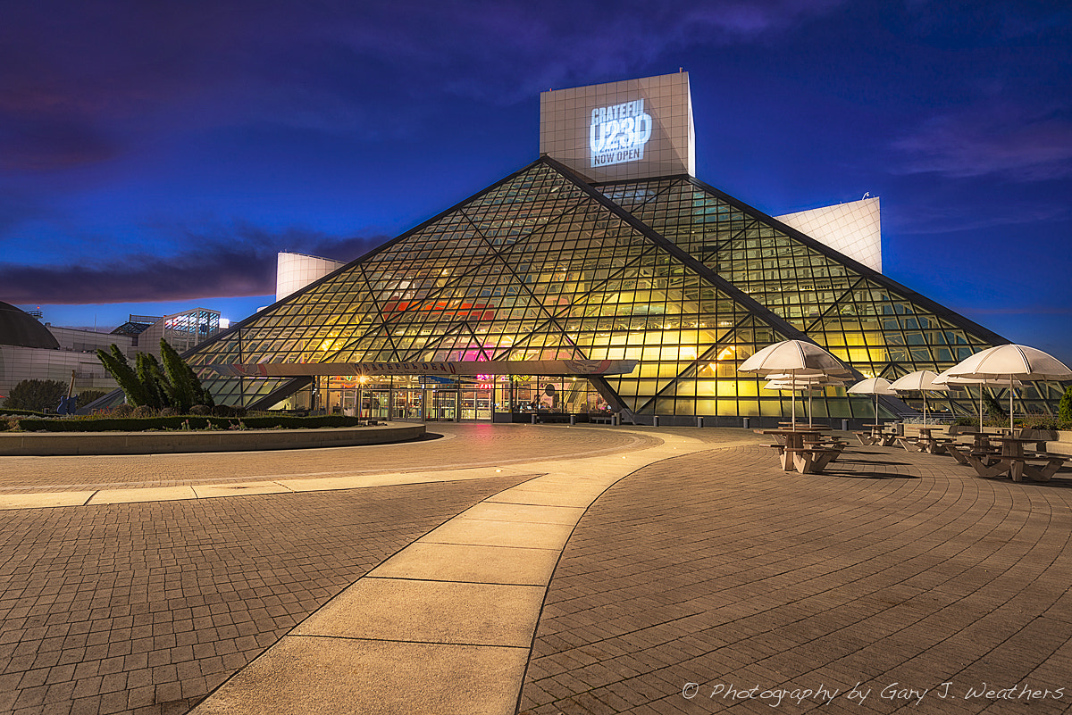 Photograph Rock and Roll Hall of Fame by Gary Weathers on 500px