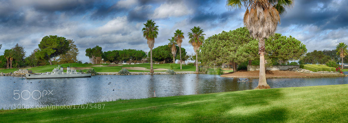 Photograph Signature Hole at Navy Golf Couse by Mike Clary on 500px