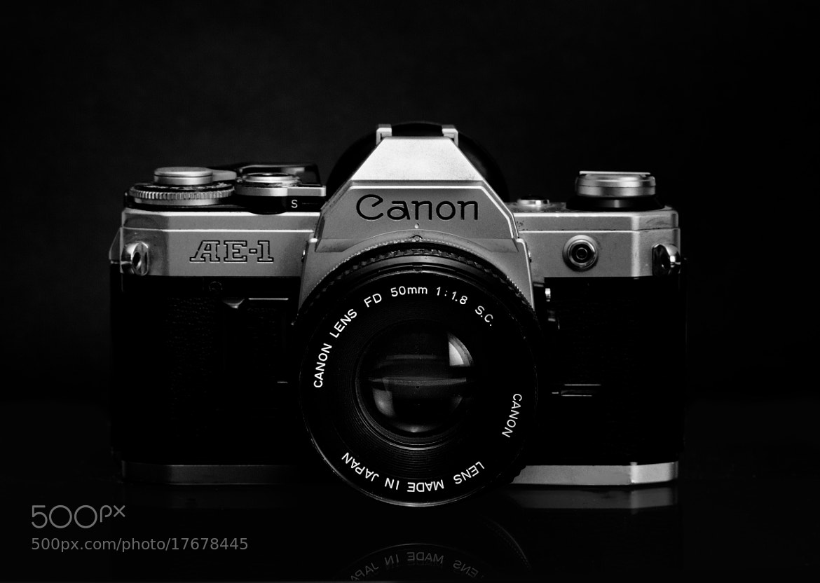 Photograph Canon AE 1 by Vivek Calvin Vesapogu on 500px