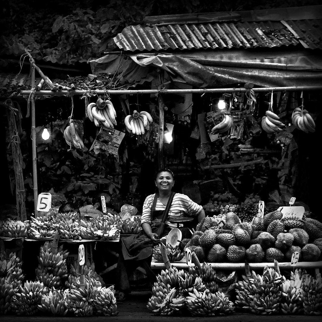 Photograph Fruit Seller by Top2View D. Jetsada on 500px