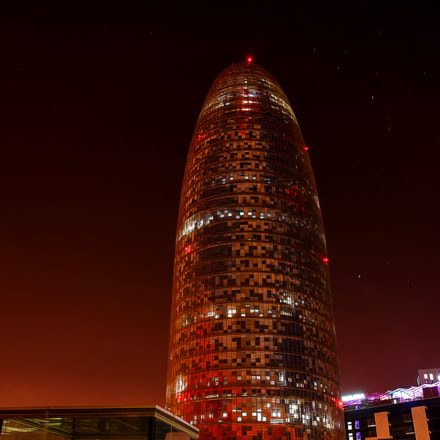 Torre Agbar Lights out, Nikon D90, Sigma 17-70mm F2.8-4.5 DC Macro Asp. IF