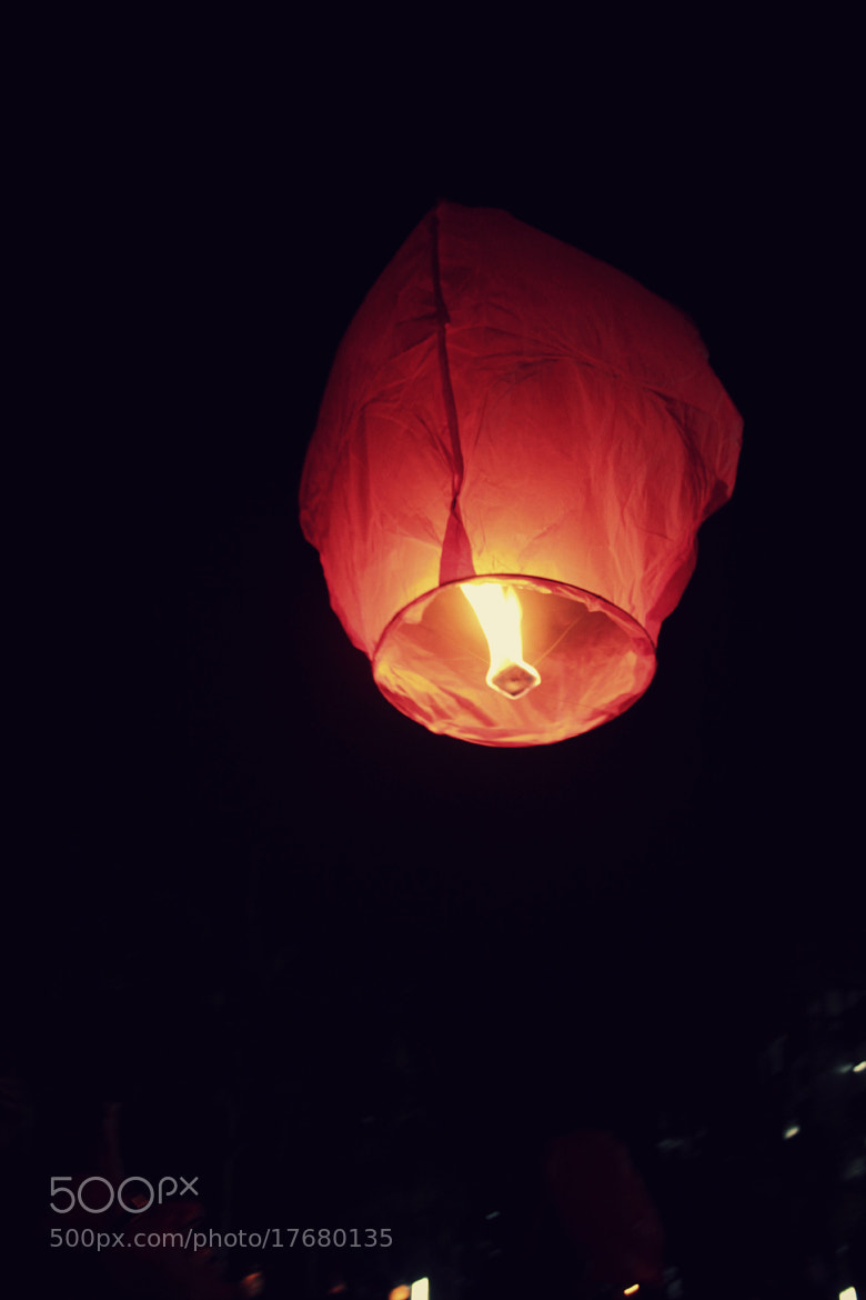 Photograph Flying Lantern. by Shweta Patil on 500px