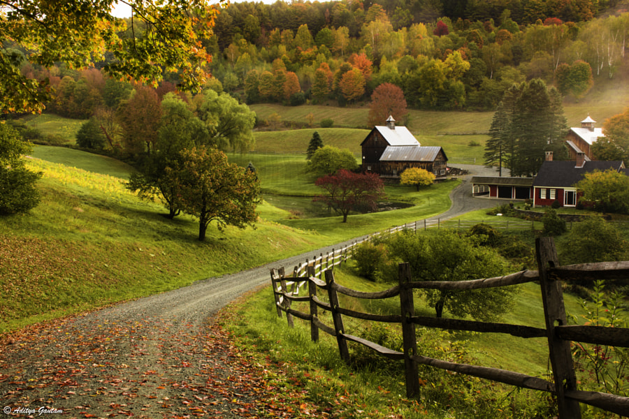 A Farm in Vermont by Aditya Gautam on 500px.com