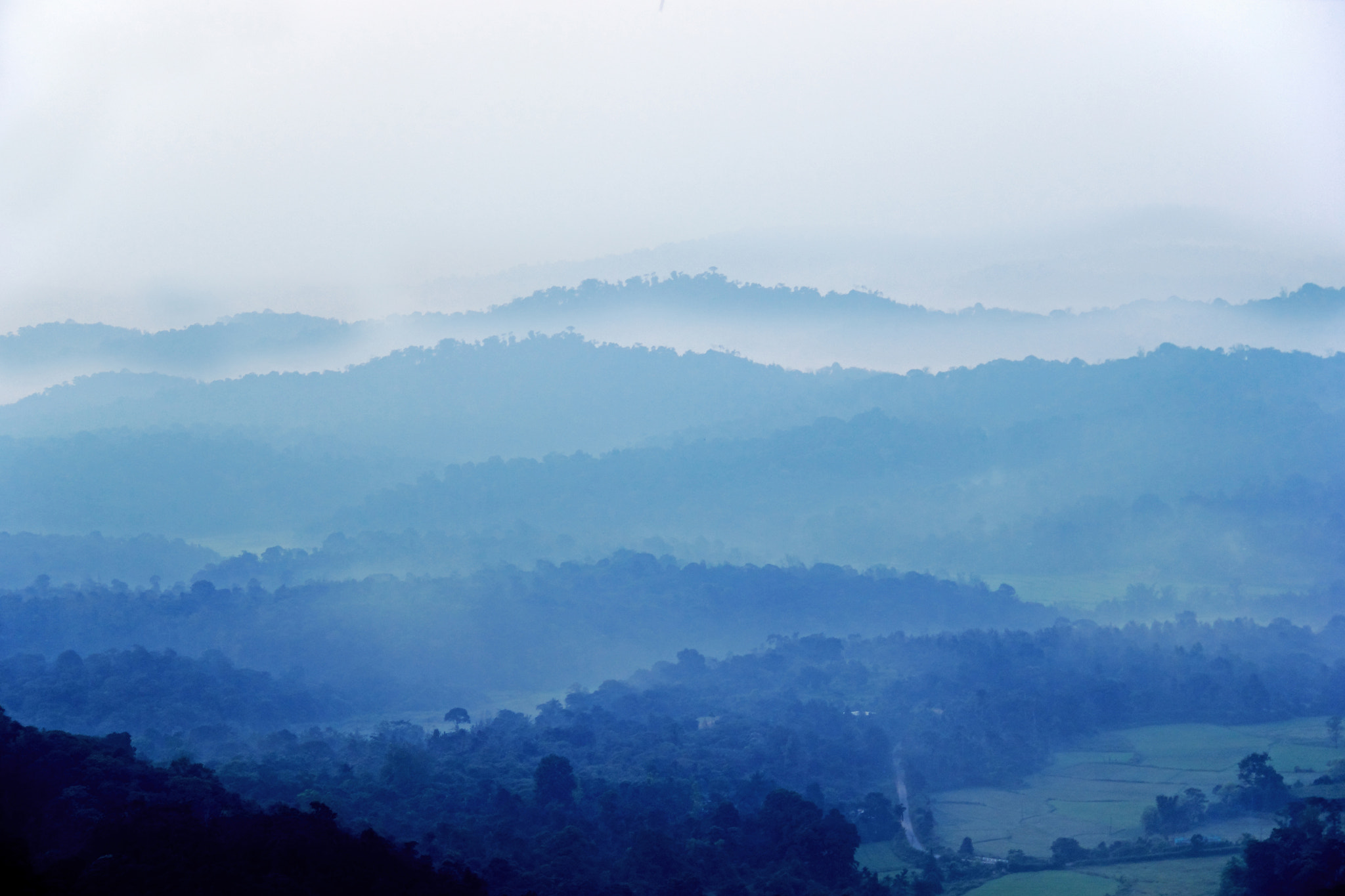 Photograph Smoky Mountains of Coorg! by Vineet Singh on 500px