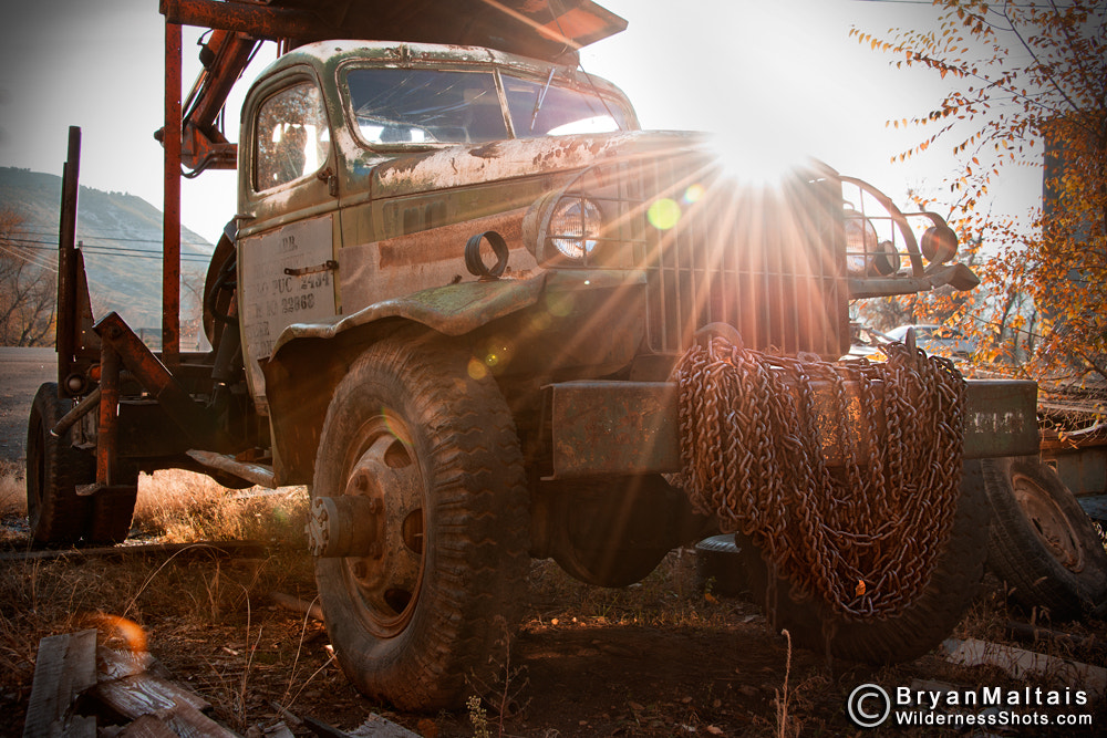 Photograph Old Truck with Chains by Bryan Maltais on 500px