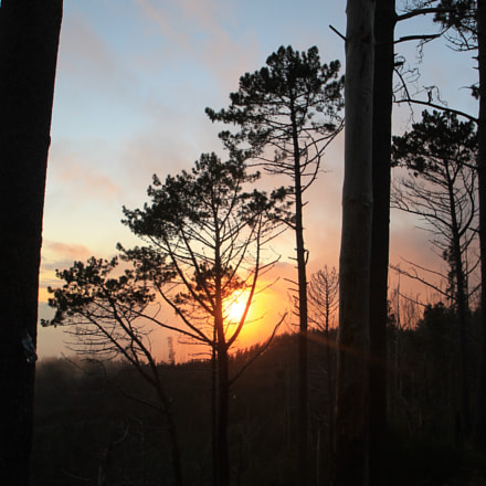 sunset on the Mountain, Canon EOS 1100D, Canon EF-S 17-55mm f/2.8 IS USM