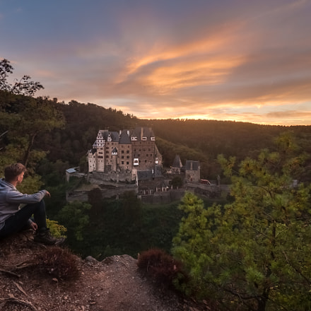 Eltz Castle Sunset, Panasonic DMC-GH4, Lumix G Vario 7-14mm F4.0 Asph.