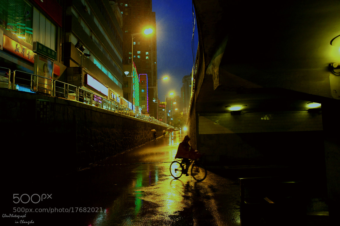 Photograph Rainy night by Padmakara. yuan on 500px