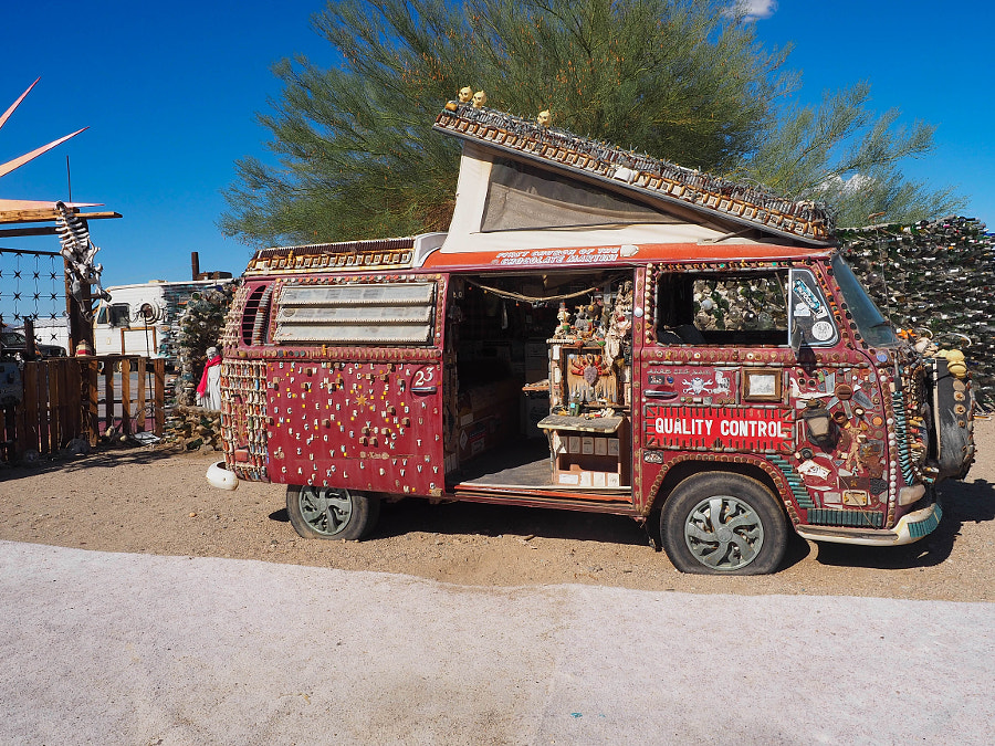 An Artistic VW Bus (1) by Nancy Lundebjerg on 500px.com
