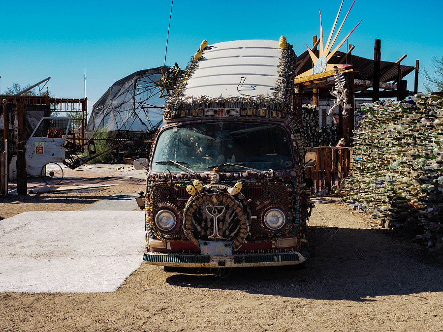 Artistic VW Bus (2) by Nancy Lundebjerg on 500px.com